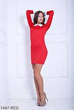 Жіноче плаття Подіум Columbine 7487-RED S Червоний M