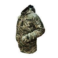 Куртка зимняя ВСУ ветровлагозащитная с утеплителем, ММ-14. ГОСТ.