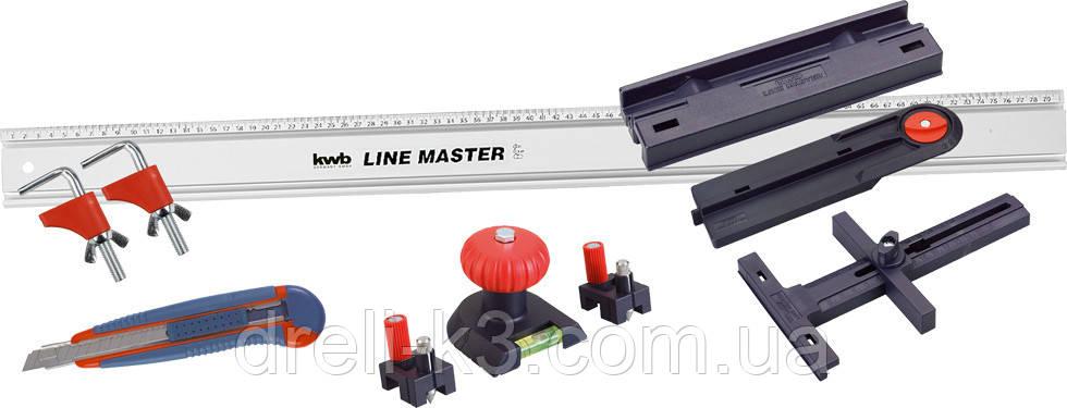 Универсальный комплект KWB LINE MASTER (10 предметов) 783908 - фото 1