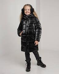 Зимнее пальто пуховик для девочек Ульяна размеры 30