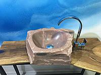 Раковина из натурального кварца. Marble dream, фото 1