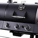 Комбинированный гриль-коптильня Oklahoma Joe's Longhorn Combo Charcoal/Gas Smoker & Grill, фото 3