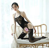 Сексуальна боді сітка сексуальная боди-сетка комбинезон бодистокинг эротическое белье, фото 8