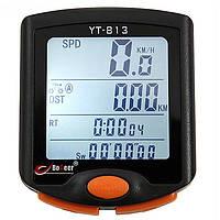 Велокомпьютер BoGeer YT-813 вело спидометр (калории, температура)