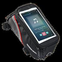 """Велосипедная сумка на раму для смартфонов Roswheel 12496 M до 4.8"""""""