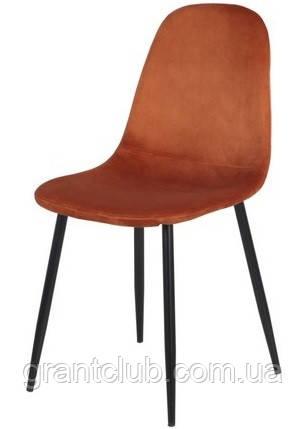 Мягкий стул M-10 горчичный  вельвет Vetro Mebel (бесплатная доставка)