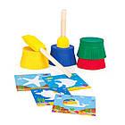Набор для творчества Рисуем пальчиками Морской мир Genio Kids TA1403, фото 3