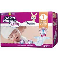 Подгузник Helen Harper Baby Newborn 2-5 кг 24 шт (5411416029816)