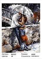 "Набір для малювання за номерами ""Закохана пара"" 40х50 см"