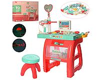 """Игровой набор """"Доктор"""" 660-62 со столом и стульчиком. Кабинет Врача."""