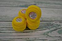 Летняя пряжа Ariadna Karat 8, цвет - лимонный 0405