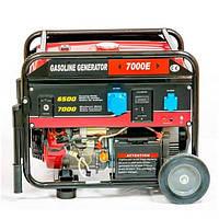 Бензиновый  генератор  Weima  WM7000E  (16009)