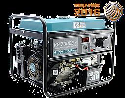 Двухтопливный  генератор  Konner  amp;  Sohnen  KS  7000E  G