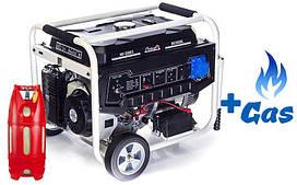 Двухтопливный  генератор  Matari  MX10000EA  ГАЗ-БЕНЗИН