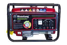 Генератор  Musstang  MG2800K-BF  бензин-газ  с  дисплеем