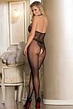 Сексуальний комбінезон сексуальный комбинезон боди сетка в упаковке эротическое белье, фото 4