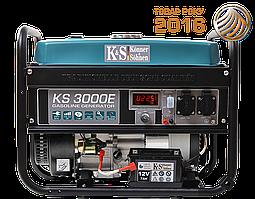 Бензиновый  генератор  Konner  amp;  Sohnen  KS  3000E