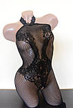 Сексуальний комбінезон сексуальный комбинезон боди сетка в упаковке эротическое белье, фото 5