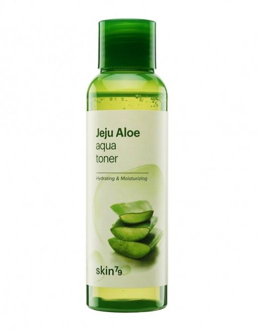 Skin79 Jeju Aloe Aqua Aqua Toner - Увлажняющий тонер алое  100g