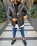 😜 Куртка - Мужскаяя теплая зимняя куртка-Анорак, фото 3