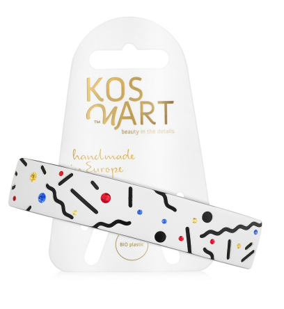 Kosmart_LT110X20ACN - Заколка для волос - Composition No.2