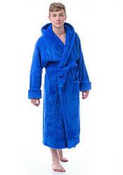 Чоловічий довгий халат з капюшоном Massimo Monelli (Туреччина) mssm1404