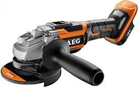 Аккумуляторная  угловая  шлифовальная  машина  AEG  BEWS18-125BL-0  (4935464414)  (без  аккумулятора  и  ЗУ)