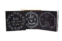 Новогодние скретч открытки с конвертами, 6 шт. Christmas gifts