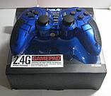 Геймпад компьютерный беспроводной Havit HV-G89W USB+PS2+PS3 (синий), фото 4