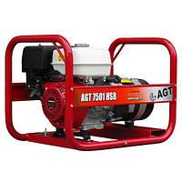 Генератор  бензиновый  AGT  7501  HSB  R26