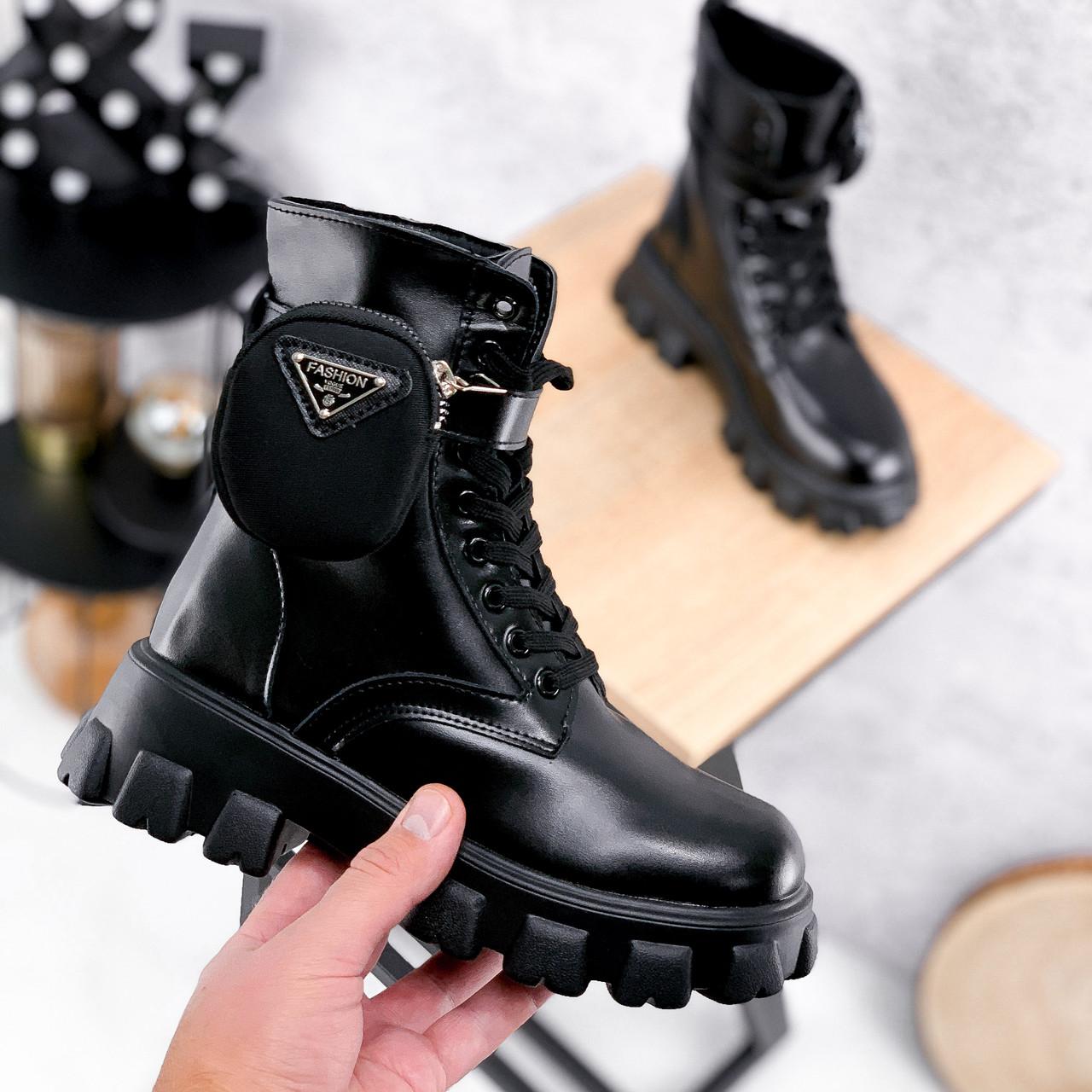 Ботинки женские Livia черный ЗИМА 2562