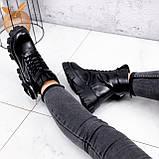 Ботинки женские Livia черный ЗИМА 2562, фото 2