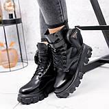 Ботинки женские Livia черный ЗИМА 2562, фото 6