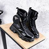 Ботинки женские Livia черный ЗИМА 2562, фото 8