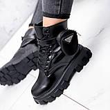 Ботинки женские Livia черный ЗИМА 2562, фото 7