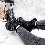 Ботинки женские Livia черный ЗИМА 2562, фото 9