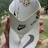 Распродажа Летние белые тапки-вьетнамки Nike, сланцы Nike домашние тапочки Nike, фото 4