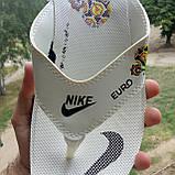 Распродажа Летние белые тапки-вьетнамки Nike, сланцы Nike домашние тапочки Nike, фото 5