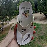 Распродажа Летние белые тапки-вьетнамки Nike, сланцы Nike домашние тапочки Nike, фото 9