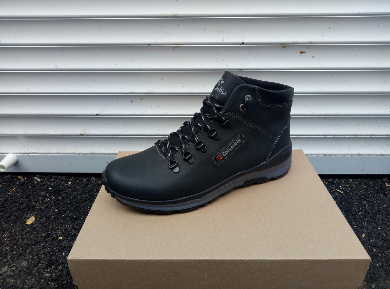 Повсякденні зимові черевики Columbia, якісні натуральні матеріали