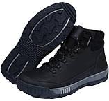 Зимние ботинки из натуральной кожи Adidas ClimaCool, зима, фото 3
