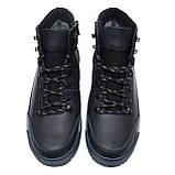 Зимние ботинки из натуральной кожи Adidas ClimaCool, зима, фото 4