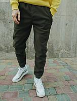Спортивные штаны Staff khaki flis, фото 1