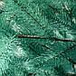 Елка искусственная литая Буковельская 1.5 м. Голубая. Ель литая, штучна ялинка( как настоящая премиум), фото 5