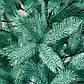 Елка искусственная литая Буковельская 1.5 м. Голубая. Ель литая, штучна ялинка( как настоящая премиум), фото 6
