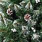 Елка искусственная 1.8 метра Элитная с шишкой и калиной. Ель новогодняя| Штучна ялинка новорічна, фото 4