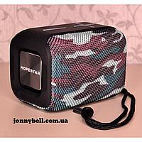 Портативная влагозащищенная MINI колонка HOPESTAR P16 c функцией Bluetooth (камуфляж)