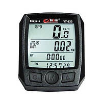 Велокомпьютер BoGeer YT-833 вело спидометр (калории, температура)