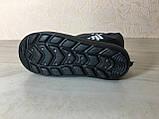 Сапоги ЭВА на мальчика, зимние ботинки ПВХ, детские валенки Adidas, зимняя обувь из пенки, сноубутсы, фото 2