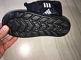 Сапоги ЭВА на мальчика, зимние ботинки ПВХ, детские валенки Adidas, зимняя обувь из пенки, сноубутсы, фото 9